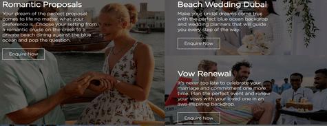 JA Resorts Weddings Packages