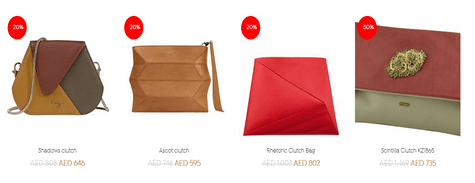 Kaizer Leather Women Clutches