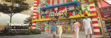 Legoland Factory Tour