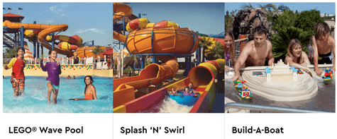 Legoland Water Park Attractions