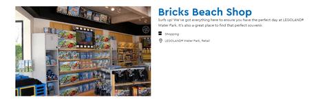Legoland Water Park Shopping
