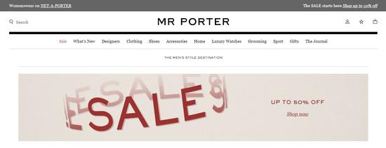 Mr Porter UAE