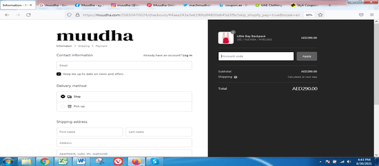 Apply Muudha Coupon Code Now!