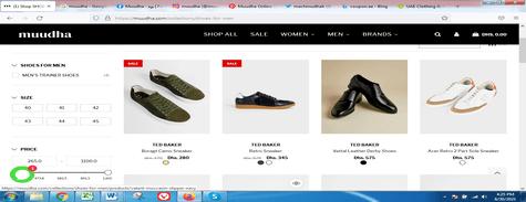 Muudha Men's Shoes