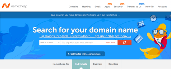 Namecheap UAE