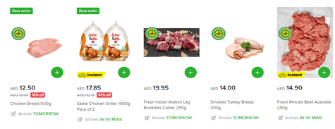 Shop Noon Daily Meat & Seafood