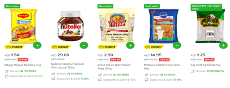 Shop Noon Daily Pantry Staples