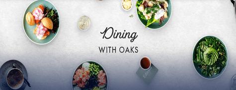 Oaks Hotels & Resorts Dinning with Oaks