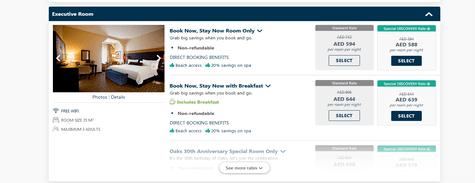 Oaks Hotels & Resorts Oaks Ibn Battuta Gate