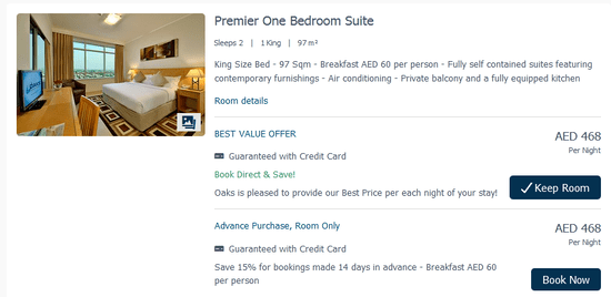 Oaks Hotels & Resorts Services