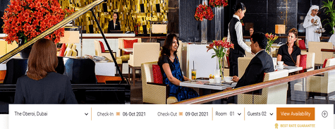 Oberoi Hotels Dining