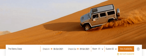 Oberoi Hotels Experience