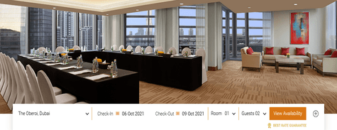 Oberoi Hotels Meetings & Events