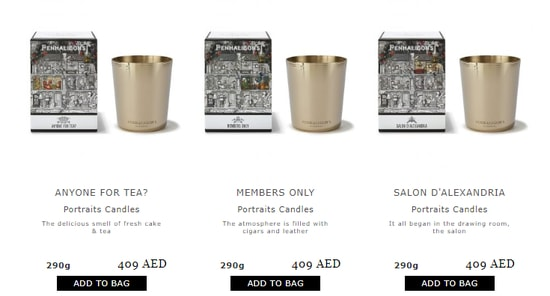 Penhaligons UAE Code