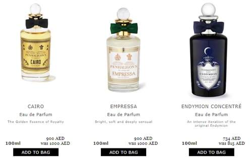 Penhaligons Deals