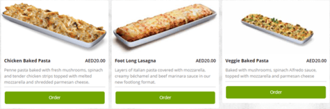Pizza Hut Pasta