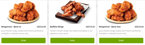 Pizza Hut Wings