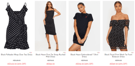 PrettyLittleThing Dresses