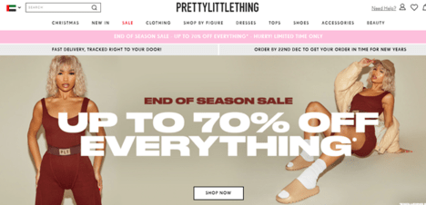 PrettyLittleThing UAE