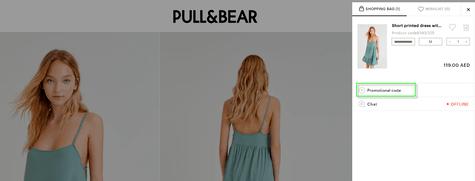 Pull & Bear Promo Code