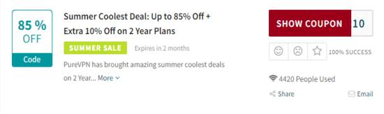 PureVPN Code