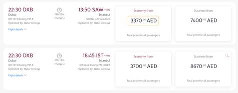 Qatar Airways Flights