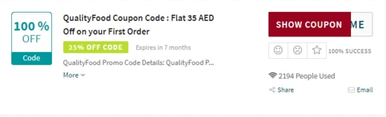 QualityFood Code