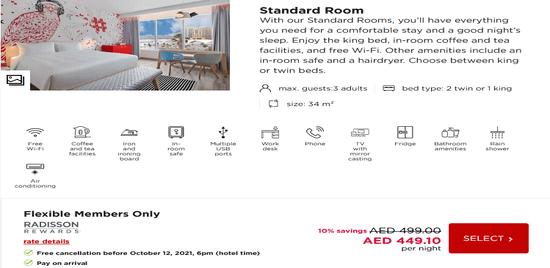 Choose Radisson Hotel Service