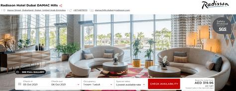 Radisson Hotel Dubai DAMAC Hills