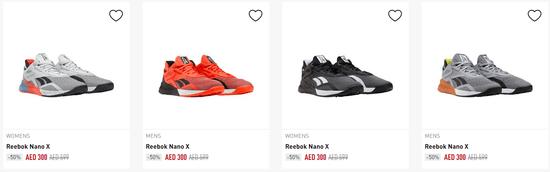 Reebok Shoes Code