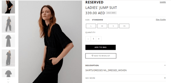 Choose Reserved Items