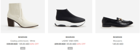 Reserved Shoes