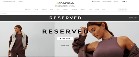 Visit Reserved page