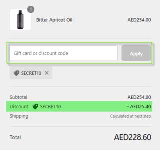 Secret Skin Discount