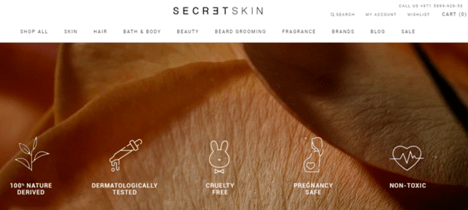 Secret Skin UAE