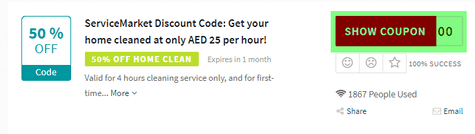 ServiceMarket Code