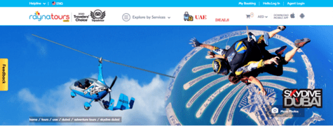 Skydive UAE