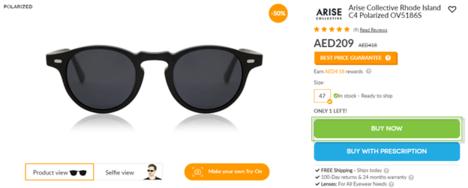 SmartBuyGlasses Cart