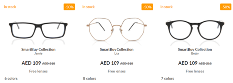 SmartBuyGlasses Offers