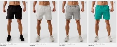 Squat Wolf Shorts
