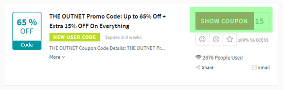 Outnet Code