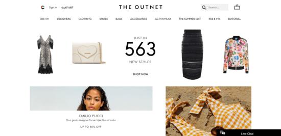 Outnet UAE