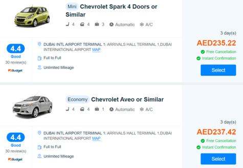 Trip.com Cars