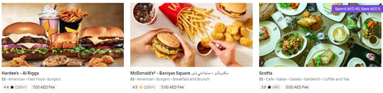 Uber Eat Burgers