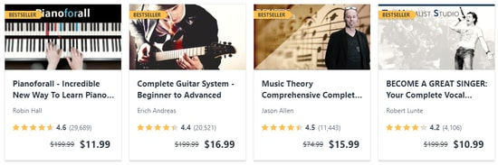 Udemy Music