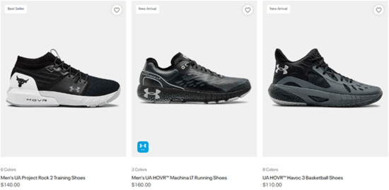 Under Armour Offers