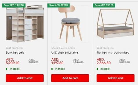 VOX Furniture Young