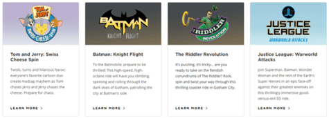 Warner Bros Rides