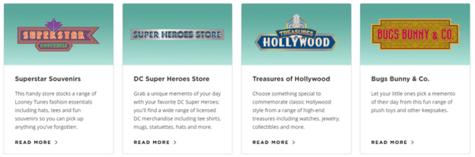 Warner Bros Shopping