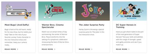 Warner Bros Shows